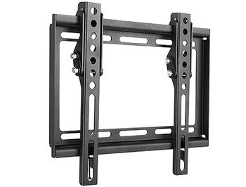 "Flat Panel Wall Support Brateck KL22-22T for TV screen size 23"" - 42"", Tilt from +0° to -8°, Super Slim design 20.5mm, VESA 50x50, 75x75, 100x100, 200x100, 200x200, 35Kg (suport de perete pentru TV/крепление подвес настенный кронштейн для телевизора)"