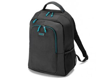 "Dicota D30575 Spin Backpack 14""-15.6"", Sportive backpack for notebook, Black (rucsac laptop/рюкзак для ноутбука)"