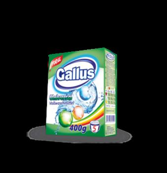 cumpără Praf pentru spalarea rufelor Gallus 400g (color/universal) în Chișinău