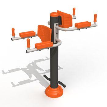 купить Тренажер для мышц пресса (Подъемы ног в упоре) РТР 513 T в Кишинёве