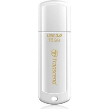 Transcend JetFlash 730 16GB Glossy White,USB 3.0 (Read 70mb/s; Write 20mb/s)