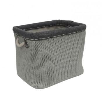 cumpără Coș tricot 360x260x300 mm, gri în Chișinău