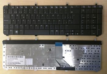Keyboard HP Pavilion dv7-2000 dv7-3000 ENG. Black