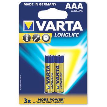 купить Батарейка Varta Micro Longlife AAA (2шт) в Кишинёве