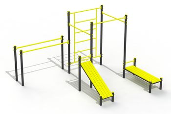 "купить Спортивная площадка ""Street Workout mini"" PTP 523-03 в Кишинёве"