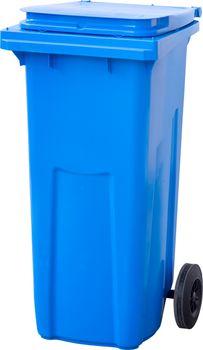 120L, Kонтейнеры для мусора, синий