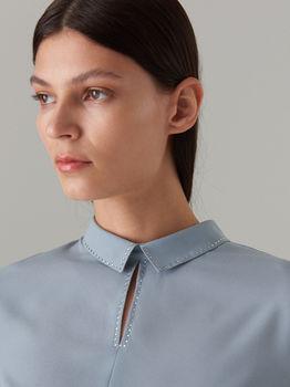 Блуза MOHITO Серо -голубой wu881-55x