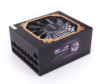 "PSU ZALMAN ""ZM850-EBT"", 850W, ATX 2.31, 80 PLUS® Gold, Active PFC, Full Modular Cable System, 120mm Quiet Fan, Smart Fan Control, Extra Cooling System, +12V (70.5A), 20+4 Pin, 2xEPS(4+4Pin), 12xSATA, 6xPCI-E(6+2pin), 8x Periph., Black"