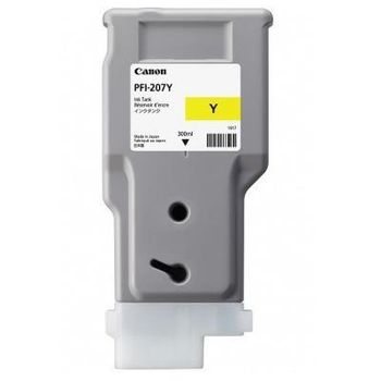 Ink Cartridge Canon PFI-207 Y, 300ml for iPF785