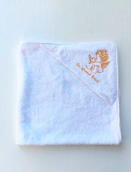 Полотенце для купания с уголком Angel 76*76 см Pampy
