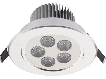 купить Светильник DOWNLIGHT LED 5 серебр 6822 в Кишинёве