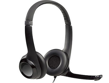 Casti cu microfon Logitech H390 Black USB Headset, Headset: 20Hz-20kHz, Microphone: 100Hz-10kHz, 2.4m cable, 981-000406 (casti cu microfon/наушники с микрофоном)