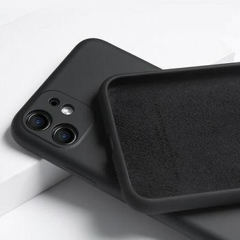 купить Чехол ТПУ Screen Geeks Soft Touch Apple iPhone 12/iPhone 12 Pro, Dark Green в Кишинёве