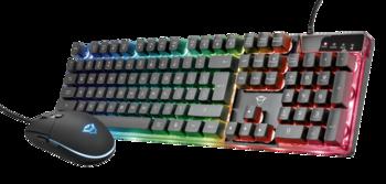 Клавиатура + мышь Trust Gaming Combo GXT 838 Azor, Black