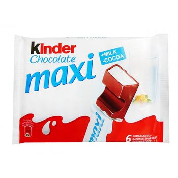 купить Kinder Maxi Chocolate, 6 шт. в Кишинёве