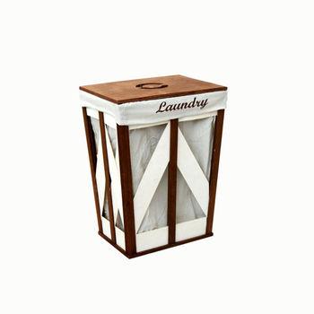 купить Корзина из дерева 370x280x500 мм, коричневый в Кишинёве