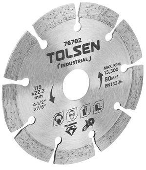 """купить Диск алмазный сегментный 180 х 22,2мм 7""""x7/8"""" TOLSEN в Кишинёве"""