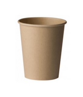 Бумажный стакан 250 мл Бамбук