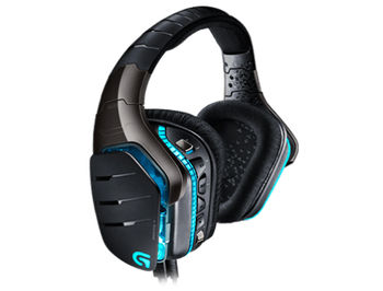 Logitech G633 Artemis Spectrum Black Gaming RGB 7.1 Headset, 7.1 Surround, 40mm PRO-G Driver, Headset: 20Hz-20kHz, Microphone: 100Hz-20kHz, 2m, 981-000605 (casti cu microfon/наушники с микрофоном)