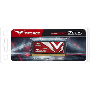 Оперативная память 16GB SODIMM DDR4 Team Elite T-Force Zeus TTZD416G3200HC22-S01 PC4-25600 3200MHz CL22, 1.2V