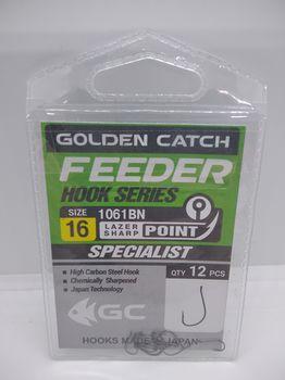 Крючки Golden Catch Feeder Nr16, 12шт