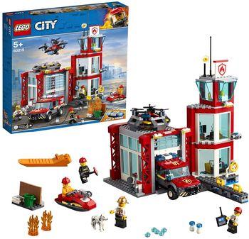 """LEGO City """"Пожарное депо"""", арт. 60215"""