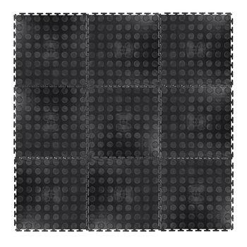 Коврик защитный (9 шт.) 0.6 см, 33x33 мм inSPORTline Avero 20646 (3439)