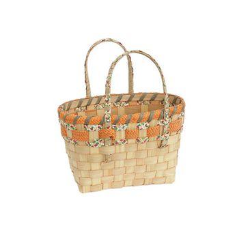 cumpără Coş din așchii de lemn cu mânere din carton 410x280x270 mm în Chișinău