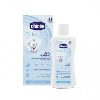 cumpără Chicco Natural Sensation Ulei de baie pentru copii fără lacrimi, 0+, 200 ml (745110) în Chișinău