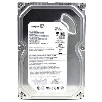 """3.5"""" HDD 250GB  Seagate ST3250310CS DB35.4 Series, 7200rpm, 8MB, SATAII, PL"""