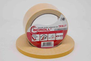 """SCROLL """"TESUT"""" Двухсторонняя тканевая лента 0.22 мм"""