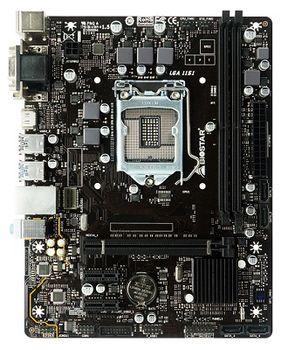 Biostar H310MHD PRO, Socket 1151, Intel® H310 (8th Gen CPU), Dual 2xDDR4-2666, CPU Intel graphics, VGA, DVI, HDMI, 1xPCIe X16, 4xSATA3, 2xPCIe X1, HDA, GbE LAN, 4xUSB3.1, mATX
