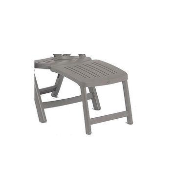 Подставка для ног для кресла Nardi POGGIAPIEDE 45 TORTORA 40296.10.000 (Подставка для ног для кресла Nardi Salina)