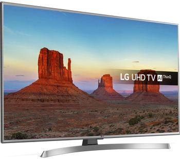 "купить 50"" LED TV LG 50UK6950PLB, Silver (3840x2160 UHD, SMART TV, PMI 2000Hz, DVB-T2/C/S2) (50"", Silver, 4K 3840x2160, PMI 2000Hz, SMART TV (WebOS 4.0), 4K Active HDR, HDR10 Pro, 4 HDMI, 2 USB, WiFi 802.11 ac, DVB-T2/C/S2, OSD Language: ENG, RU, RO, Speakers 2x10W, Remote control ''Magic Motion"" AN-MR18BA, 12.8Kg, VESA 200x200 ) в Кишинёве"