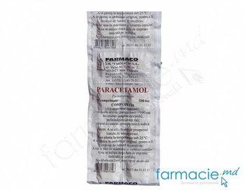 купить Paracetamol comp. 500 mg N10 (Farmaco) в Кишинёве