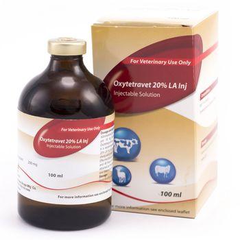 купить Окситетравет 20% - антибиотик для профилактики/лечения животных - Мобедко в Кишинёве