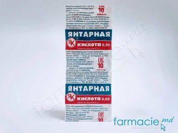 купить Acid succinic 0.05mg N10 в Кишинёве