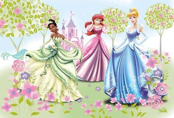 "17191 Trefl Puzzles - ""60"" - Stroll through the garden / Disney Princess"