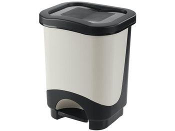 Ведро для мусора с педалью Tontarelli Idea 18l
