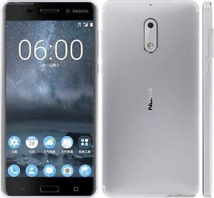 купить Nokia 6 Duos 4/32Gb Silver в Кишинёве