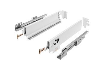 Modern Box alb L-400 H-83 deschidere totală cu amortizor