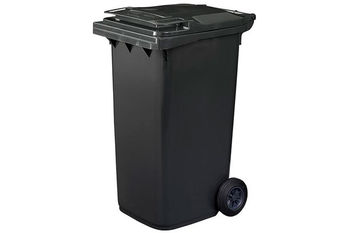купить Мусорный бак Plastic G black 120 л в Кишинёве
