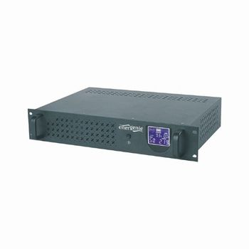 Gembird Rack 3.4U UPS UPS-RACK-1500, 1500VA/900W, AVR, 4xIEC, LCD display, USB control interface, 2x12V/7Ah Battery