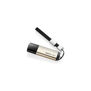 32GB USB3.1 Flash Drive Apacer AH353, Black, Aluminum Body, Black Cap (memorie portabila Flash USB/внешний накопитель флеш память USB)