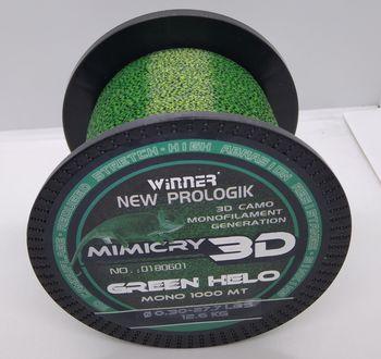 Леска 3D Winner Mimicry 1000м 0.30мм