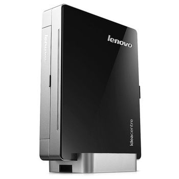 Lenovo IdeaCentre Q190 Mini Home Theather (Intel® Celeron® Dual Core 1017U 1.60GHz, 2GB DDR3, 500GB, Intel® HD Graphics, 4xUSB 2.0, 2xUSB 3.0, CardReader, Gbit Lan, Wifi-N, HDMI, VGA, SPDIF, Lenovo Rescue System, DOS, VESA Mount, 155*192*22mm)