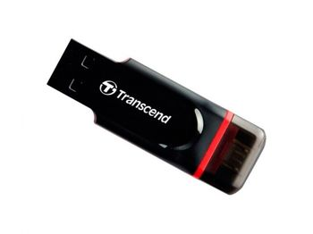 "8GB USB2.0/Micro-USB Flash Drive Transcend ""JetFlash 340"""