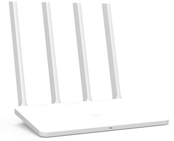 Xiaomi Mi Router 3C White EU,  N300 Wireless Router, 300Mbps at 2.4Ghz, 802.11a/b/g/n, 1 WAN + 2 LAN,  4 external antennas