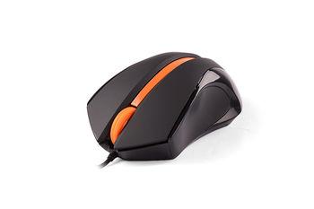Mouse A4Tech N-310-1, Black/Orange