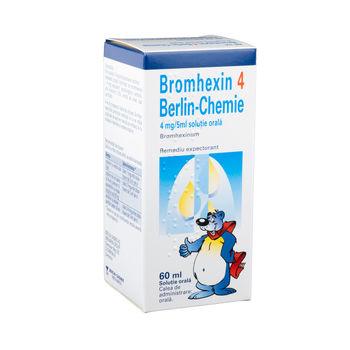 cumpără Bromhexin 4mg/5ml 60ml sol.orala în Chișinău